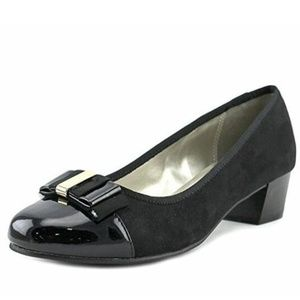 Karen Scott Womens Cap Toe Classic Pumps black 8.5